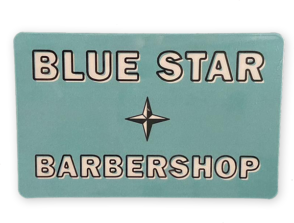 Blue Star Men's Shampoo, Styling, Hair, and Beard Products